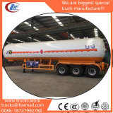65000liters Semitrailer LPG Loading Road Tank