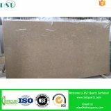 China Special Artificial Quartz Brown Stone