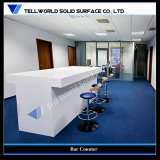 SGS Certificate Acrylic Solid Surface White Bar Counter (TW-033)