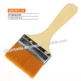 F-14 Wooden Handle Oil Paint Brush