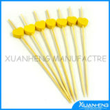 15cm China Manufacture Wholesale Colorful Ball Head Bamboo Skewers