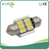 C5w Canbus 6SMD5630 31mm LED Lights for Cars