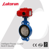 Cast Iron/Wcb/Stainless Steel Electric Wafer Butterfly Valve