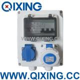 Qixing Plastic Combination Socket Box (QCXY-01)