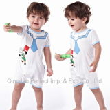 100% Cotton Kids Children's Baby Rompers Wear (BRP8018)
