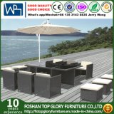 Wicker Furniture Outdoor Garden Dining Set with Table and Chairs (TG-1637)