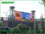 Large Format Outdoor Transparent LED Billboard