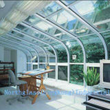 Hot Selling Curved Safety Glass for Curtain Wall Glass