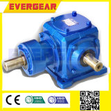 T Series Cylindrical 90 Degree Spiral Bevel Gearbox Gear Reducer