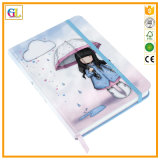 Full Color PU Leather Notebook Printing