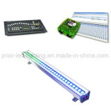 RGB Pixel LED Wall Washer Linear Light