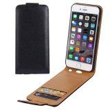 Vertical Flip Leather Wallet Case W Card Slots