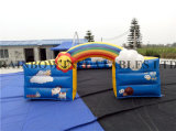 Inflatable Rainbow Arch for Outdoor Advertising, Inflatables Rainbow Printing