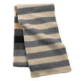 Simple Men′s Striped Style Scarf (JRI081)