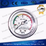 50mm 2′′ Stainless Steel Oil Filled Pressure Gauge with Glycerin