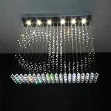 LED Modern Crystal Chandeliers Pendant Lightings for Restaurant 8027-6