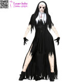 Plus Size Women′s Dreadful Nun Costume L15526