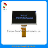 7.0 Inch 800X480 TFT LCD Modules Wide Vewing High Luminance