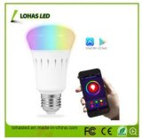 WiFi Smart LED Bulb RGB APP Smartphone Controlled LED Lighting Dimmable Multicolored Color Changing E27 9W