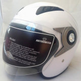 2017 New Open Face Motorcycle Helmet with ABS Material