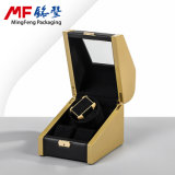 Technological Fashion MDF Golden&Black Watch Gift Case