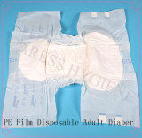 PE Film High Quality Disposable Adult Diaper