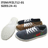 Flower Design Women Leisure Shoes Injection Shoes Factory (FFZL712-01)