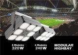 UL 60/90/120 Degree Beam LED Highbay Light, 140lm/W, 320W