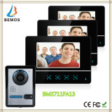 7 Inch TFT Touch Screen Color LCD Video Door Phone Doorbell Wired Video Intercom 3 Monitor