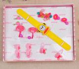 Cute Cartoon Children′s Watch Set