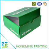 Glossy Finishing Corrugated Cardboard Boot Box
