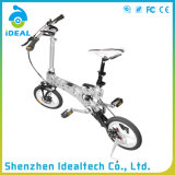 14 Inch Rubber Handlebar Folding Mountain Bicycle
