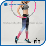 New Style Gradient Color Women Sports Leggings Tight Fit Colorful Leggings
