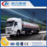 HOWO 336HP Fuel Truck for Sale with Emergency Valve