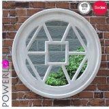 Round Decarative Wooden Wall Mirror