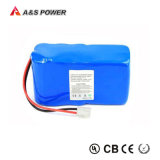 Rechargeable Cylindrical 18650 3s6p 12V 12ah Li-ion Battery Packs for Solar Street Light