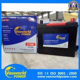 JIS Standard Maintenance Free Battery N75 12V75ah Auto Battery
