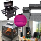 Silicon Based Heat Resistant Powder Coating with RoHS Standard for BBQ