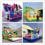 Inflatable Frozen Castle Bouncer with Slide, Inflatable Frozen Slide for Kids