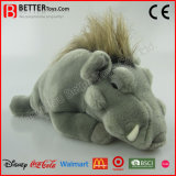Realistic Stuffed Animal Wild Pig Soft Boar Plush Warthog Toy