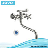 Sanitary Ware Top Sale Double Handle Bath-Shower Mixer Jv 74402