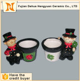 Ceramic Desktop Decoration Mini Flower Pot