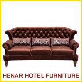 Luxury Royal European Fabric Sofa Set for Living Room Furniture