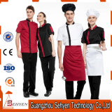 100% Cotton Men′s Fashion Chef Coat Uniform