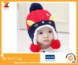 Good Quality of Custom Knitted Baby Hats, Kids Winter Hats to Protect Ears