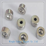 D10*D3.5*8 Nickel Plating Neodymium Ring Magnet