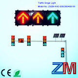 Ce & RoHS Approved High Flux LED Flashing Traffic Light with Clear Lens