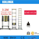 3.2m Telescopic Ladder with Stabilizer Bars