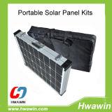 80W Camping Portable Solar Panel Kit