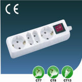European Style Outlet Switch Extension Socket